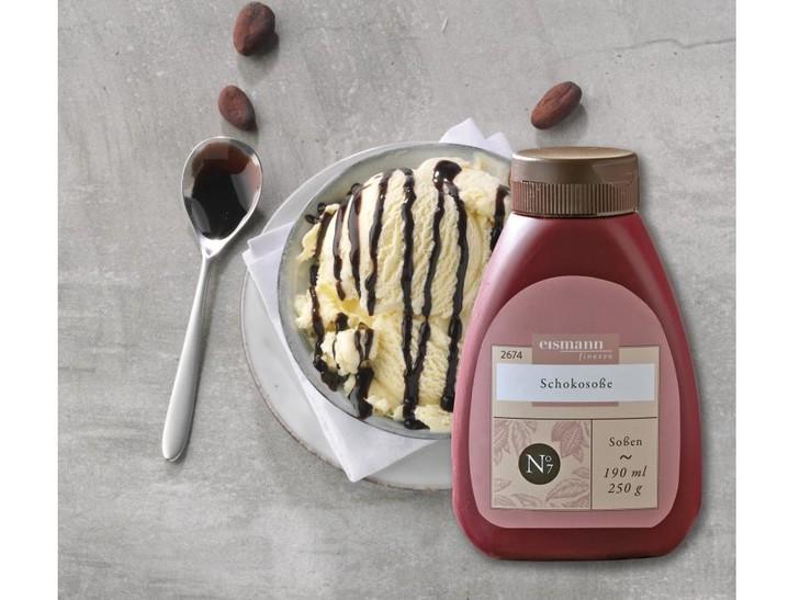 Combi Vanille-bourbon+Chocoladesaus