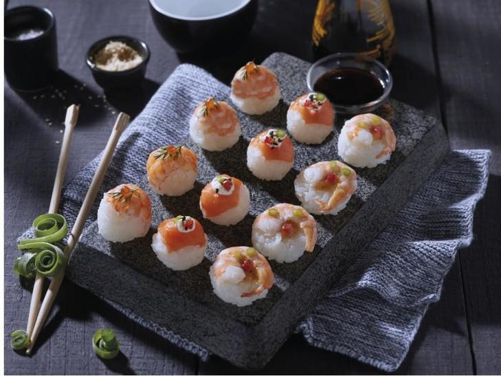 Sushi pralines