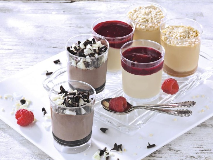 "Dessert ""Winter mousse"""