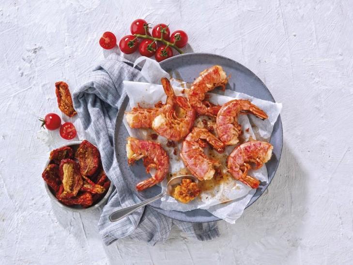 Argentijnse rode garnalen Pomodori