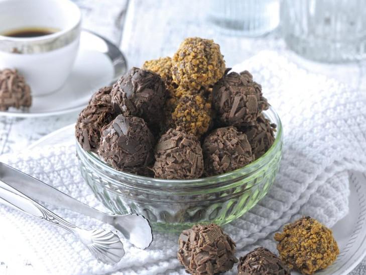 Belgische chocolade truffelvariatie