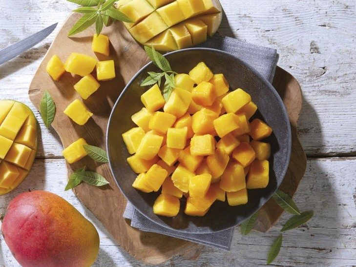 Mangoblokjes