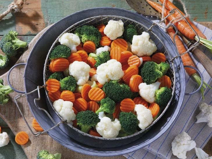 Gemengde groente met broccoli