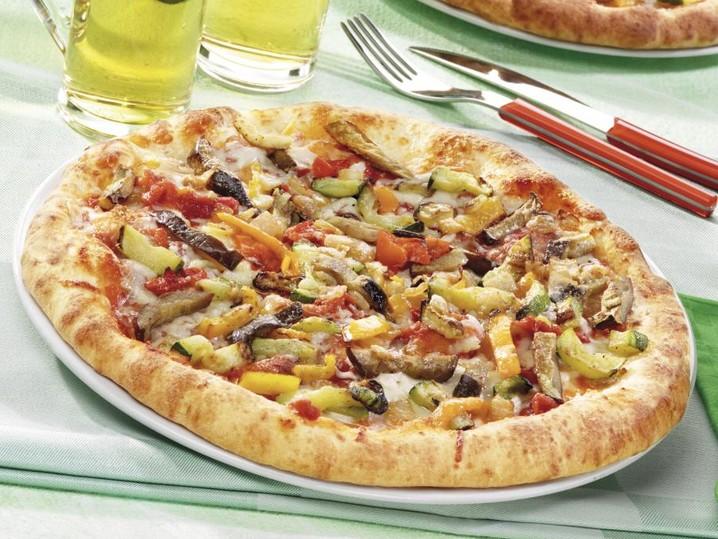 Pizza Suprema met groenten