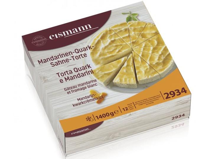 Mandarijn-kwarkcrèmetaart