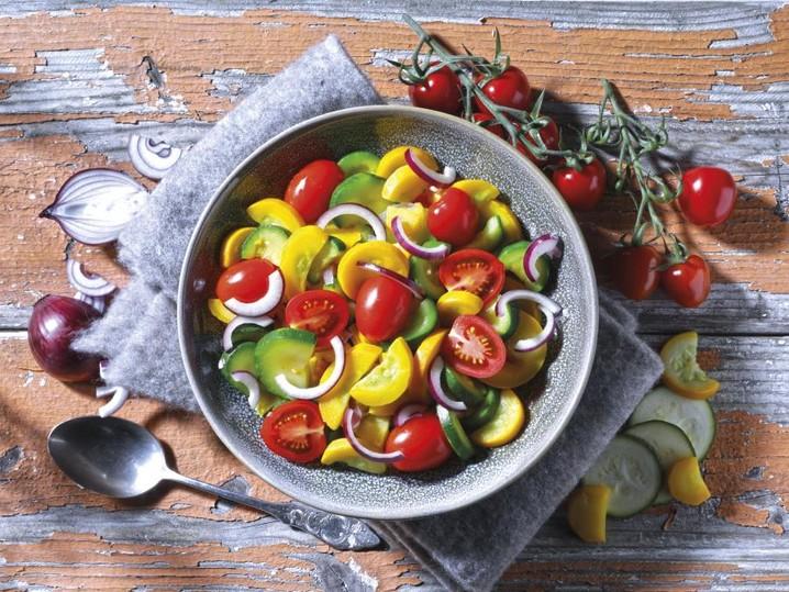 Courgette-groentemix